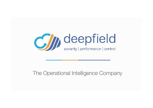 The Operational Intelligence Company