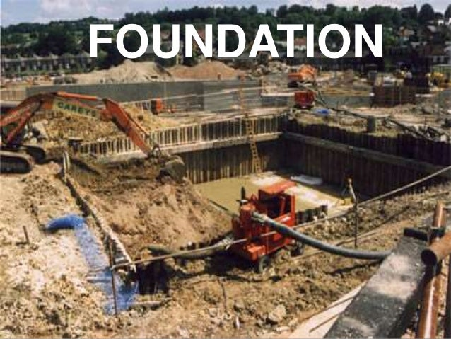 Deep foundation ppt my final tos work for How do foundations work