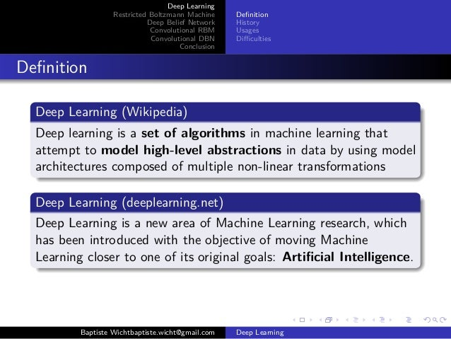 Image result for deep learning definition