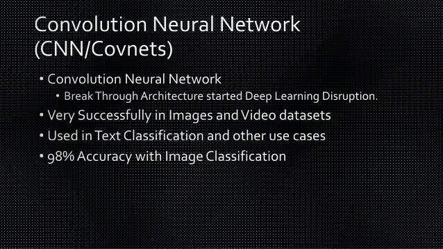 Deep Learning Ecosystem