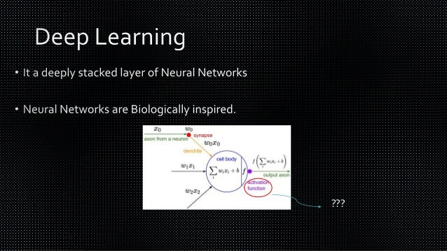 Neural Networks? So What's New?