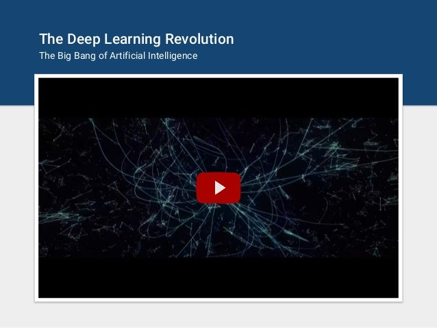 Deep Learning - The Past, Present and Future of Artificial Intelligence Slide 2