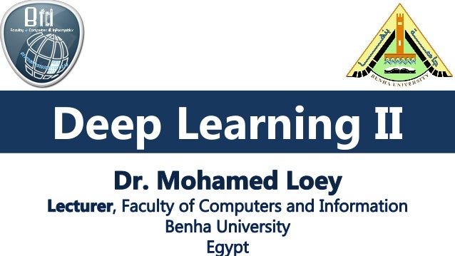 Deep Learning Deep Learning II