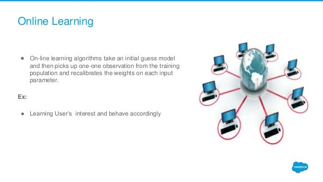 ● On-line learning algorithms take an initial guess model and then picks up one-one observation from the training populati...