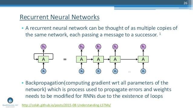 Deep learning Tutorial - Part II