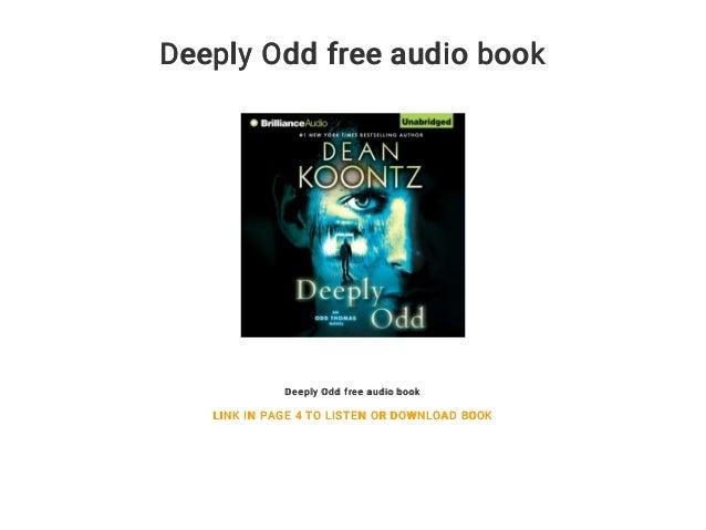 deeply odd koontz dean