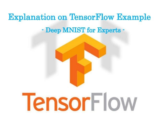 Explanation on TensorFlow Example - Deep MNIST for Experts -