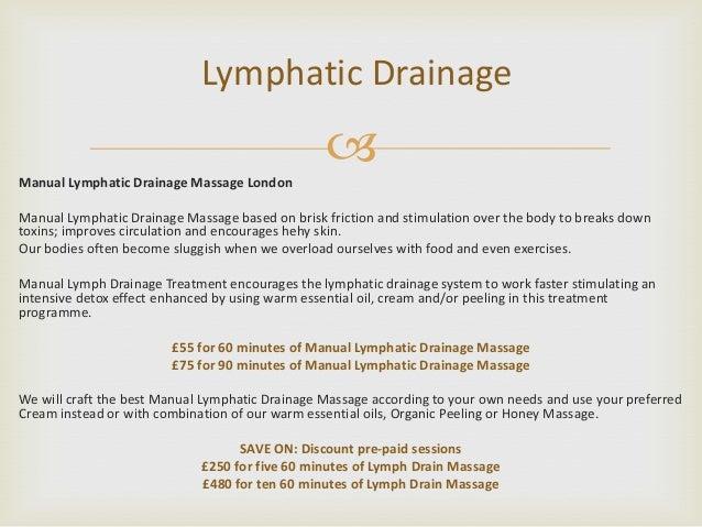 Manual lymphatic drainage massage | lymphatics | lymphatic.