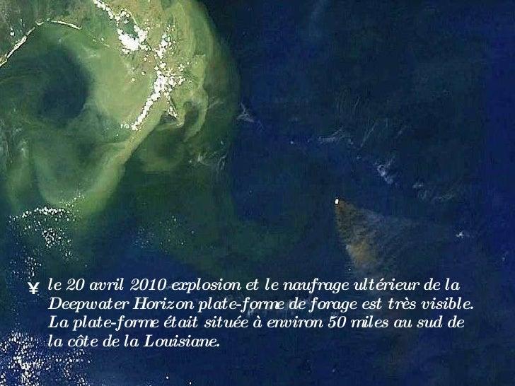 Deepwater horizon Slide 3