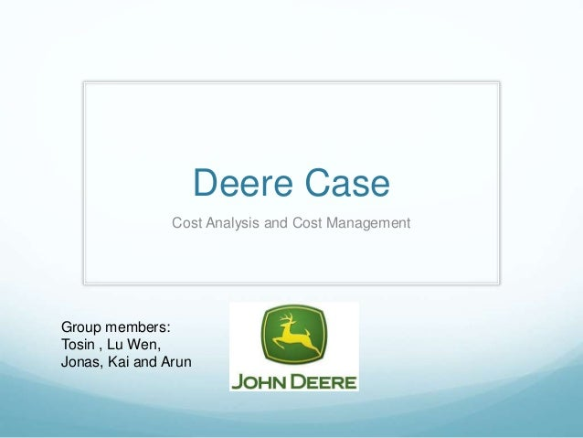 Deere & Company - Case - Harvard Business School