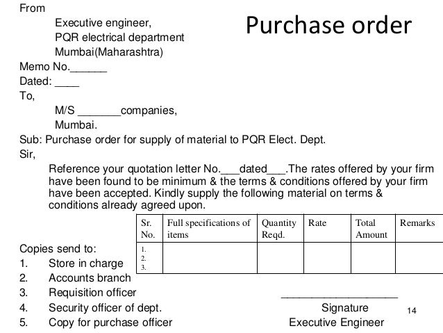 Dees 1 7 Tendering  Purchase Requisition Letter