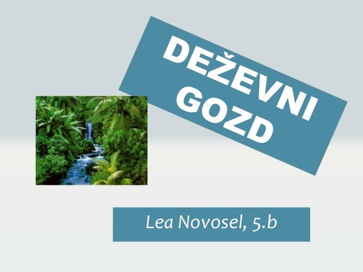 Lea Novosel, 5.b
