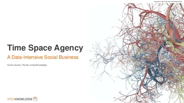 1Time Space AgencyA Data-Intensive Social BusinessCosimo Accoto | Partner at OpenKnowledgeTrajectories | http://mariuswatz...