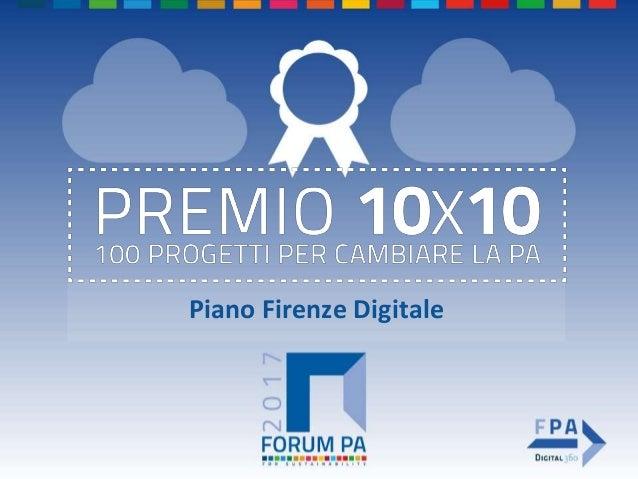 Piano Firenze Digitale