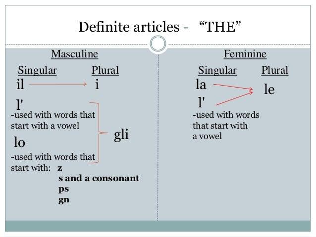 articles german plural