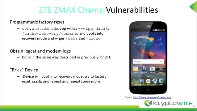 Recovery Mode Zte