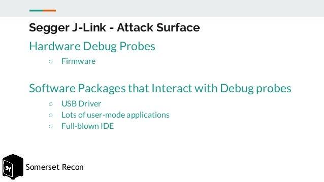 Beaches] J link driver software