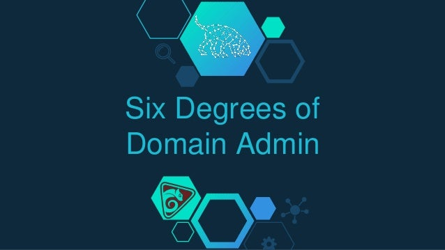 Six Degrees of Domain Admin