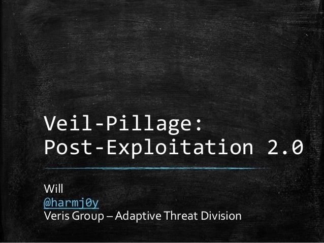 Defcon - Veil-Pillage