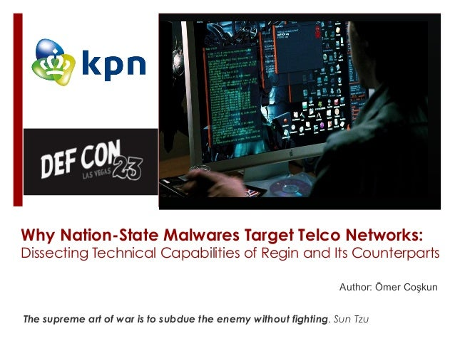 Author: Ömer Coşkun Why Nation-State Malwares Target Telco Networks: Dissecting Technical Capabilities of Regin and Its Co...