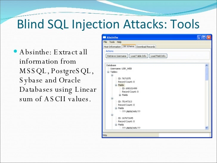 Time Based Blind Sql Injection Using Heavy Queries