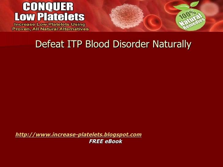 itp disease is curable