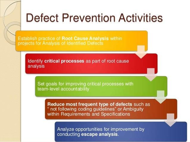Defect Management ProcessDefectPreventionDefectDiscoveryDefectResolutionProcessImprovement6