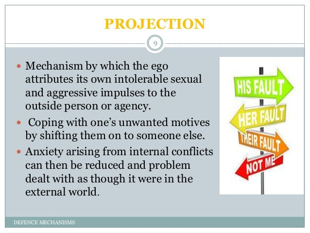Defense mechanisms projection