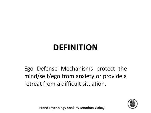 ego defense statement