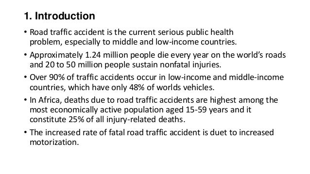 research proposal on road accidents