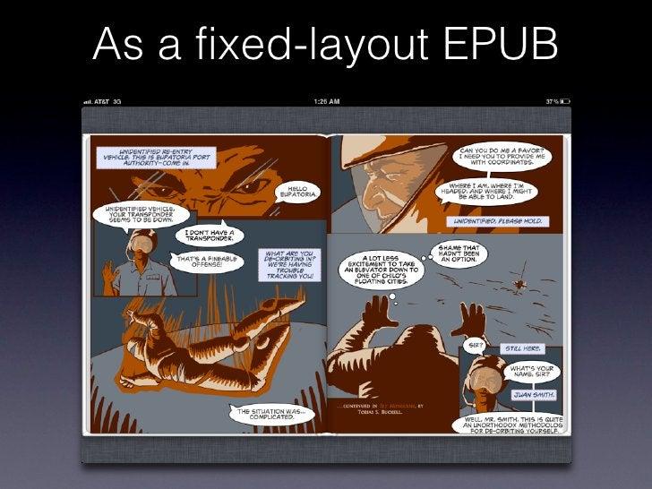 As a fixed-layout EPUB