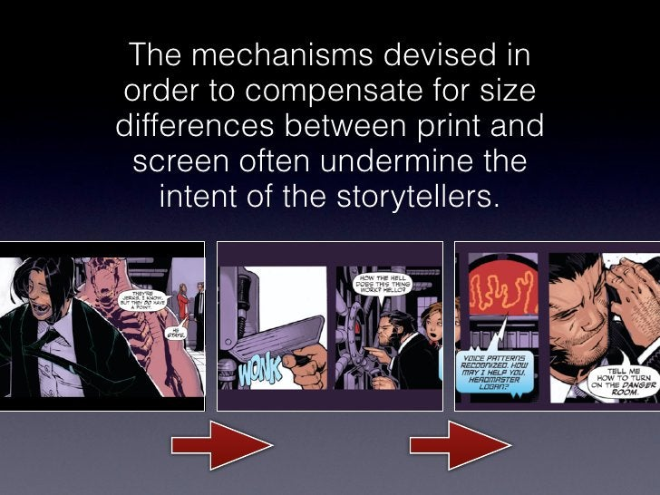 The mechanisms devised inorder to compensate for sizedifferences between print and screen often undermine the    intent of...
