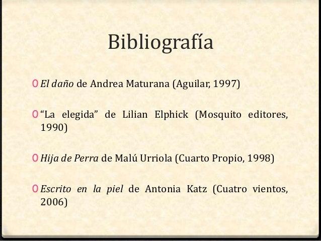 Presentación Tesis Identidad Lésbica en la Literatura Chilena Reciente Slide 3