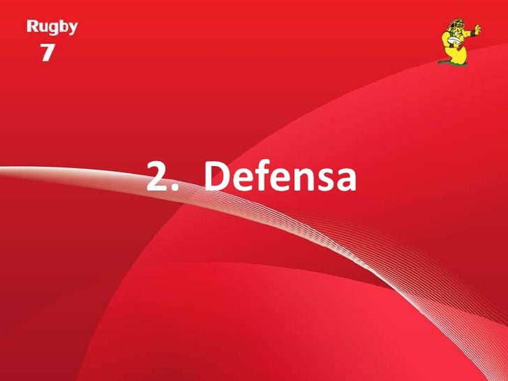 2.  Defensa<br />
