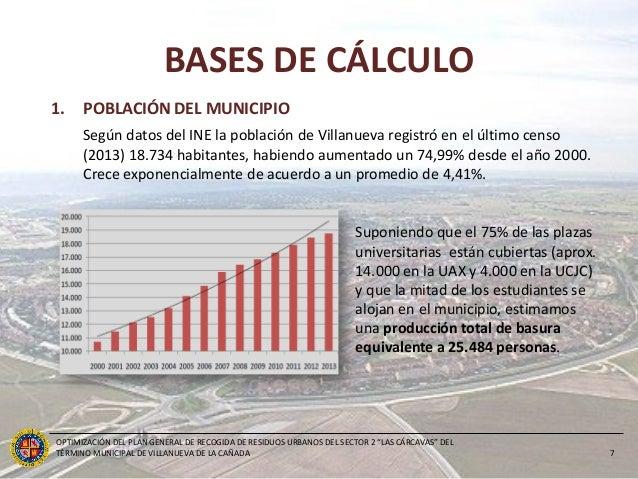 Optimizaci n del pg de recogida de ru del sector 2 las - Cb villanueva de la canada ...