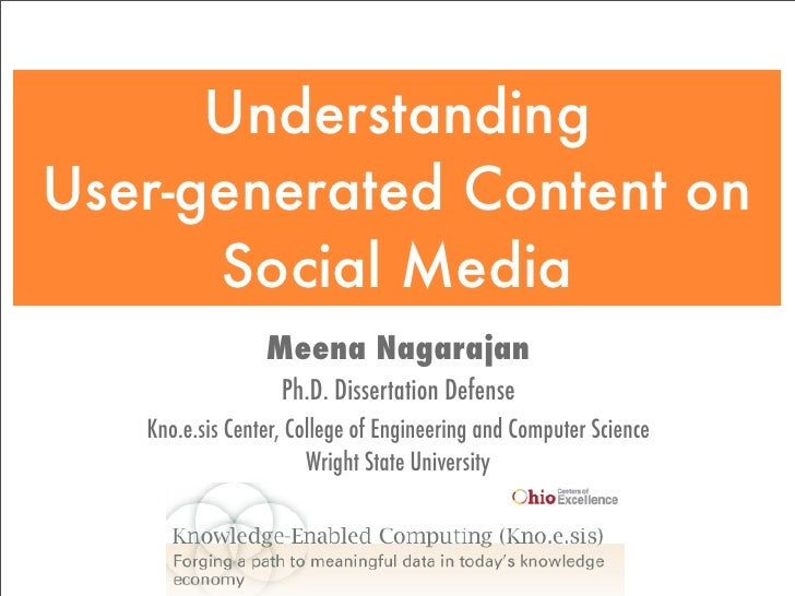 Meena Nagarajan Ph.D. Dissertation Defense