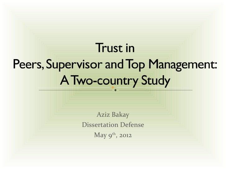 Aziz BakayDissertation Defense    May 9th, 2012