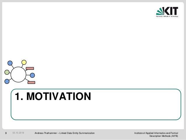 Linked Data Entity Summarization (PhD defense) Slide 3