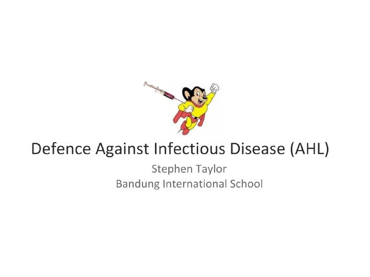 Defense Against Infectious Disease (AHL)