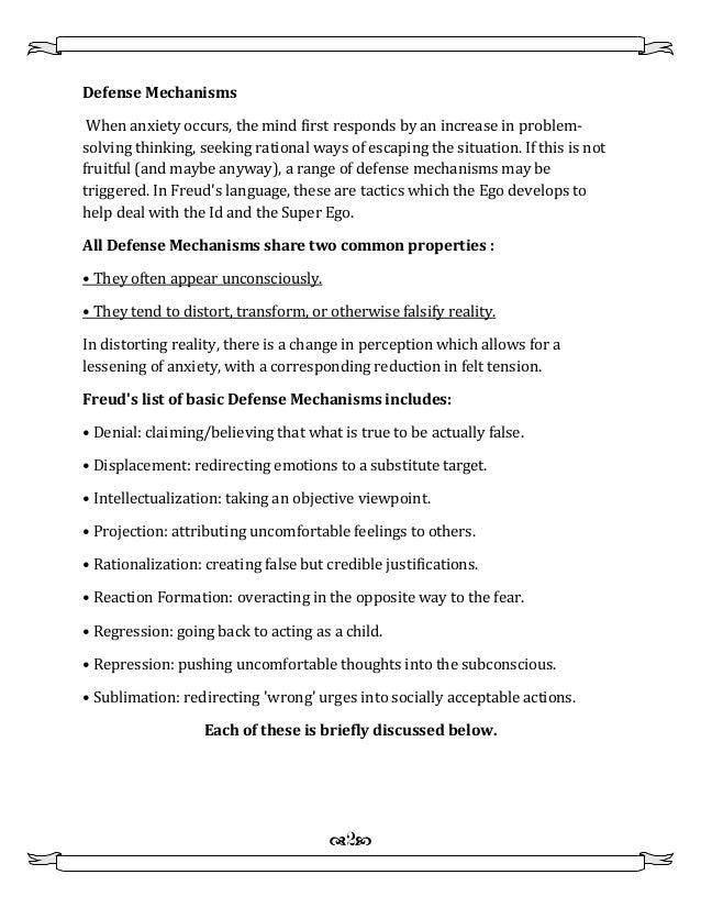 100 defense mechanisms worksheets psychodynamic defence mental health worksheets for. Black Bedroom Furniture Sets. Home Design Ideas