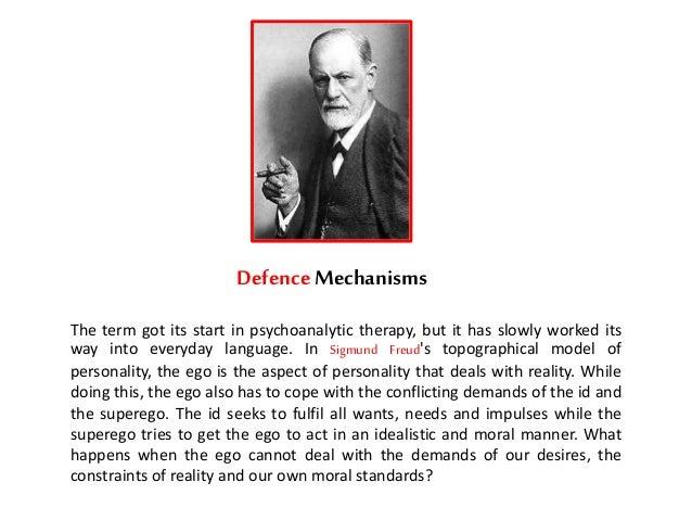 Sigmund freud defense mechanisms essay