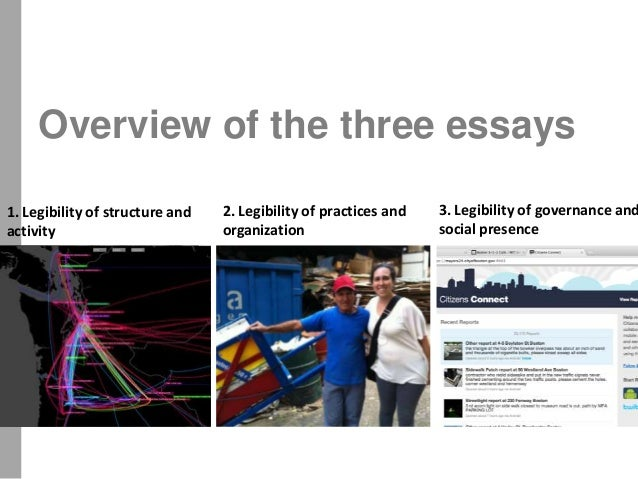 Three essays dissertation