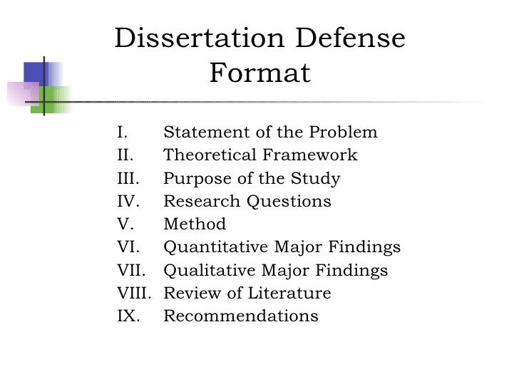 Questions asked defending your thesis