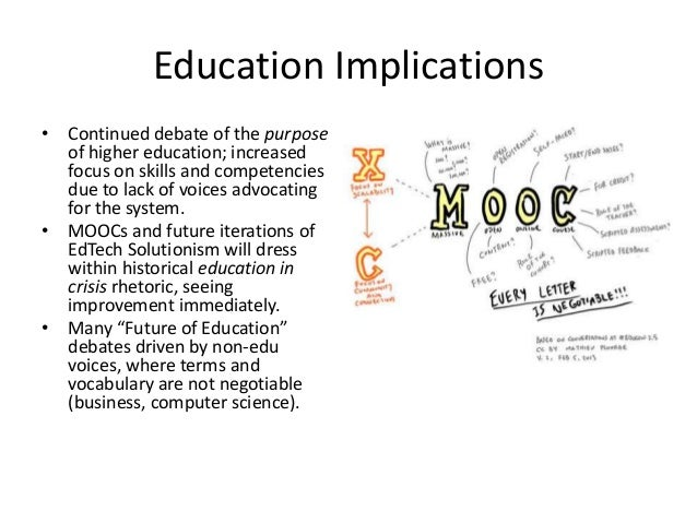 The evolution of the educational system