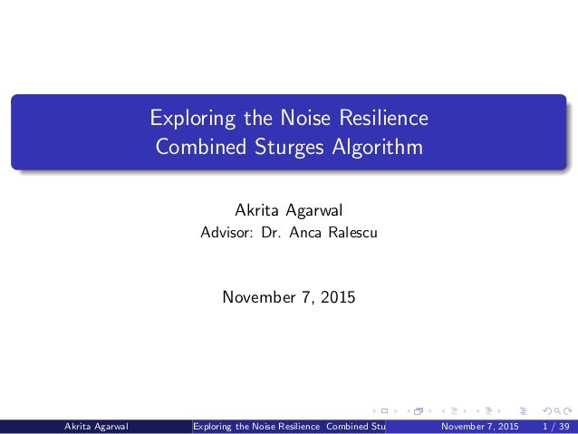noise resilience in machine learning algorithms