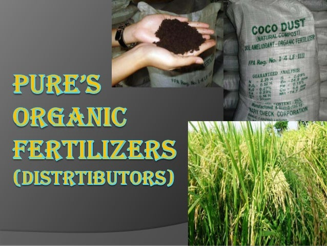 BUSINESS DESCRIPTION   BUSINESS NAME: PURE's Organic    Fertilizers (Distributors)      PU-Punsalan      RE-Rebagoda  FO...