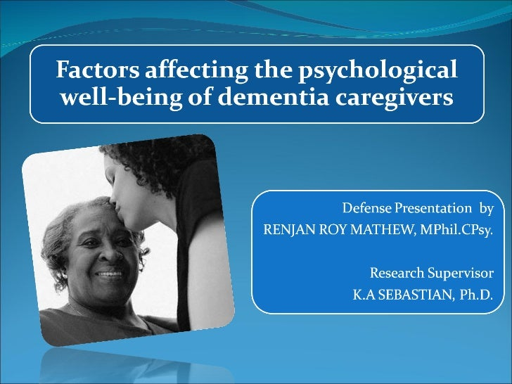 factors affecting psychological well being