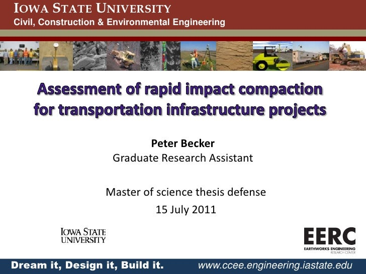 Completed masters thesis