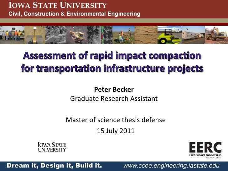Dissertation proposal defense presentation