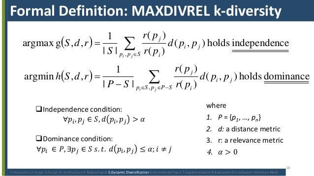 Diversity thesis definition